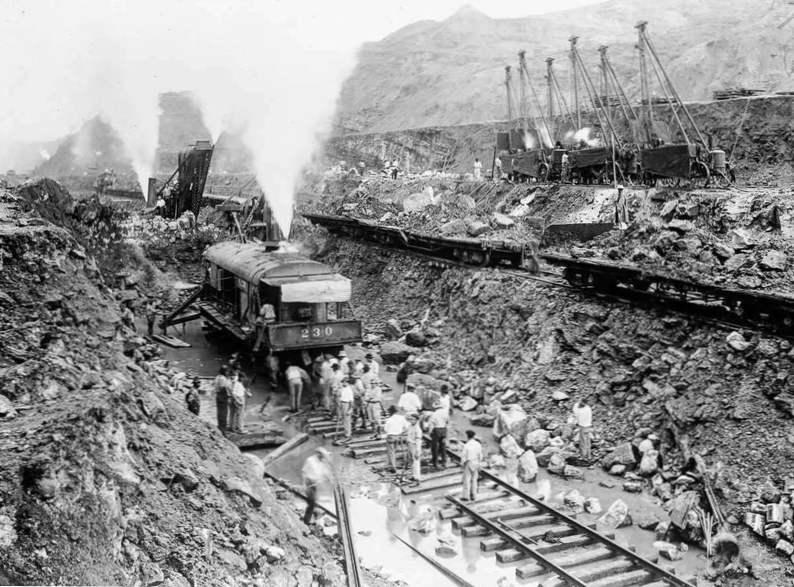 """Резултат с изображение за """"изграждането на Панамския канал."""""""