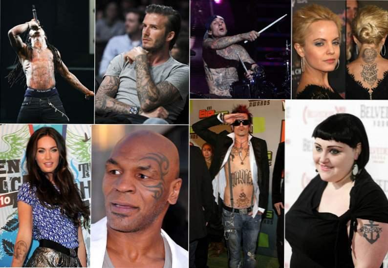 Gwiazdy I Ich Tatuaże Gwiazdy Przydatne Wskazówki I