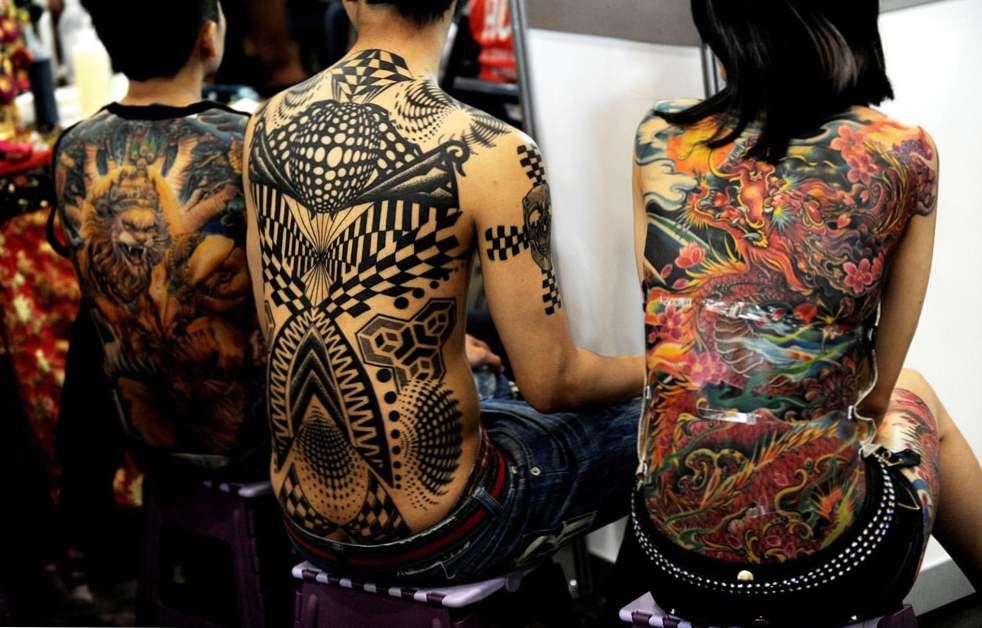 Ljubitelji tetovaža iz uk