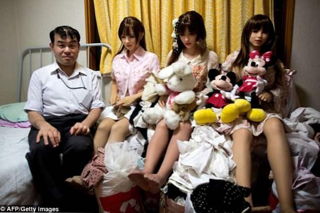 realistične azijske seks-lutke