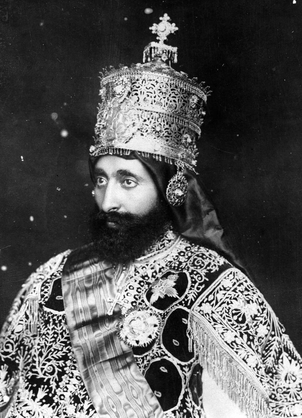 Хайле Селасие - последният император на Етиопия, потомък на цар ...